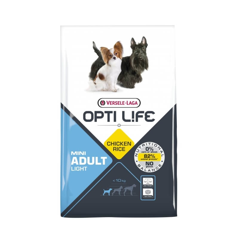 Versele Laga Opti Life Adult Light Mini, 7.5 kg