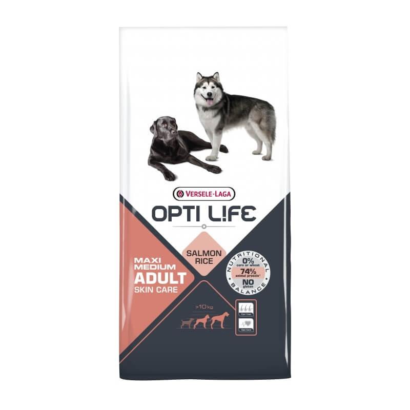 Versele Laga Opti Life Adult Skin Care Medium & Maxi, 12.5 kg