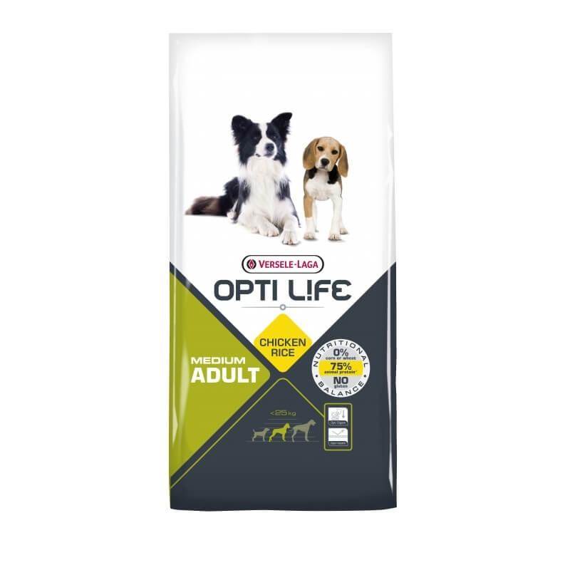 Versele Laga Opti Life Adult Medium, 12.5 kg
