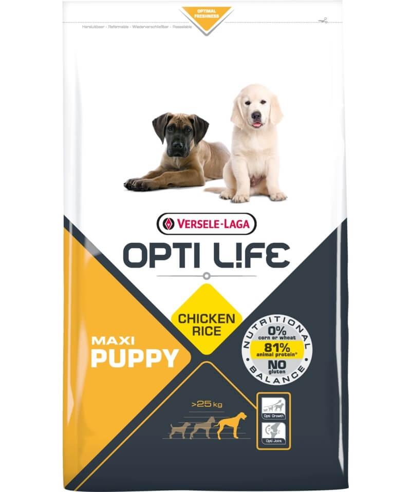 Versele Laga Opti Life Puppy Maxi, 12.5 kg