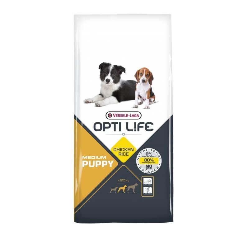 Versele Laga Opti Life Puppy Medium, 12.5 kg