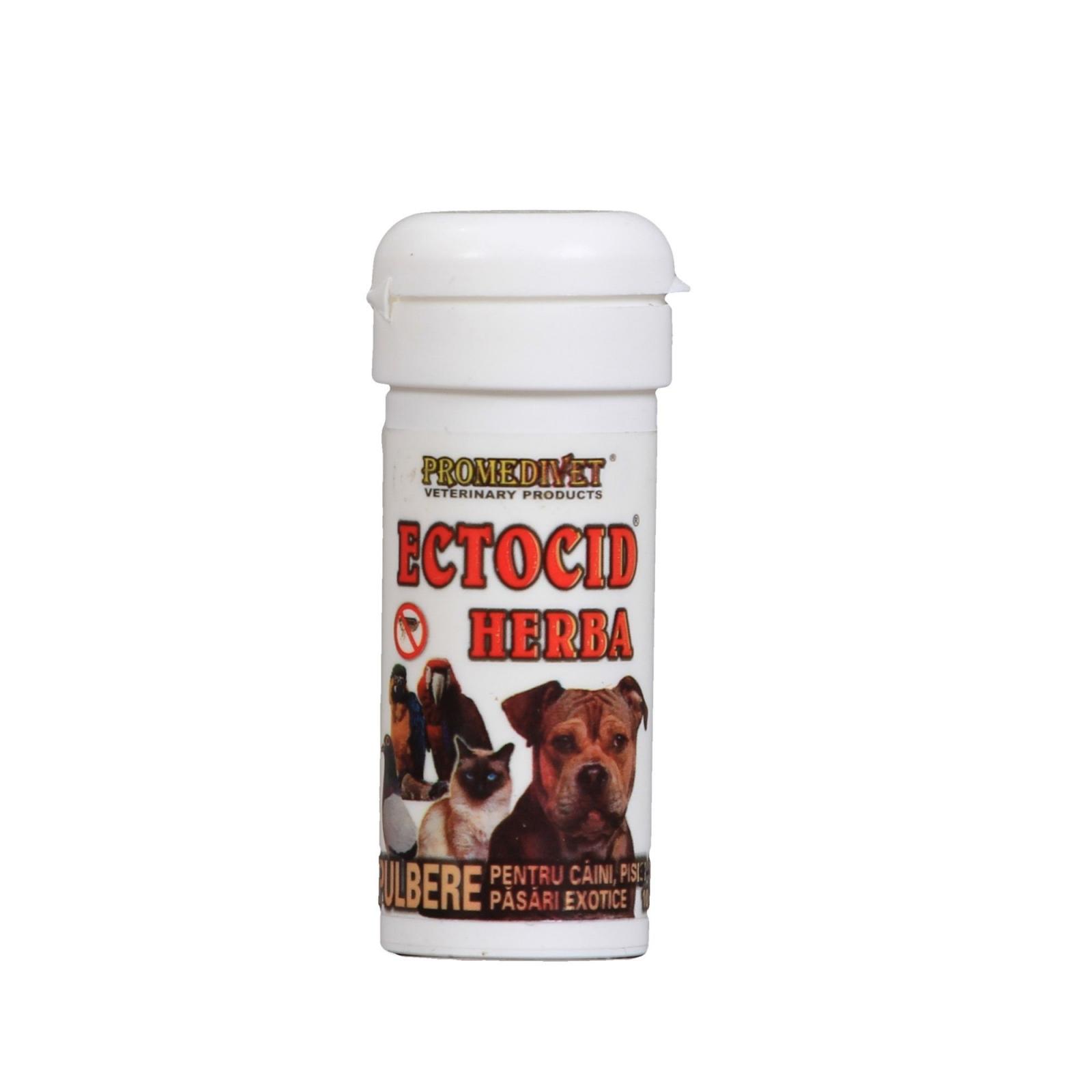 Praf Antiparazitar Ectocid Herba 10 g