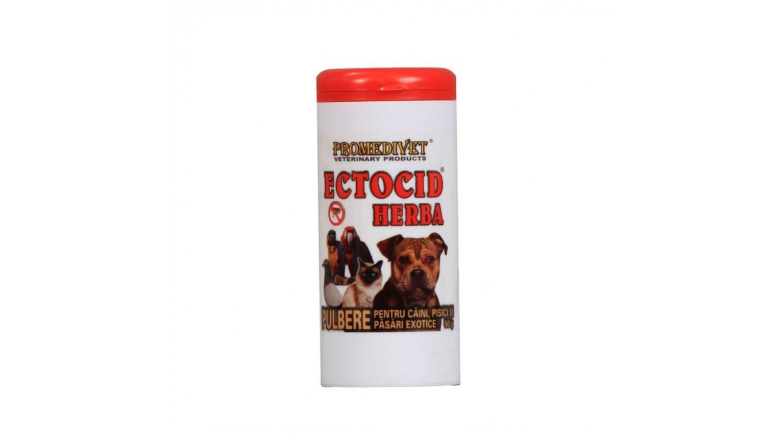 Praf Antiparazitar Ectocid Herba 50 g