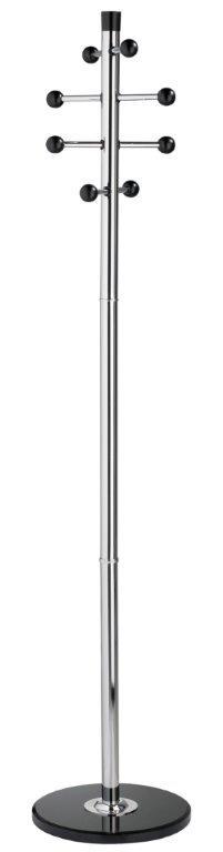 Cuier metalic cromat, 175/38cm, ALCO