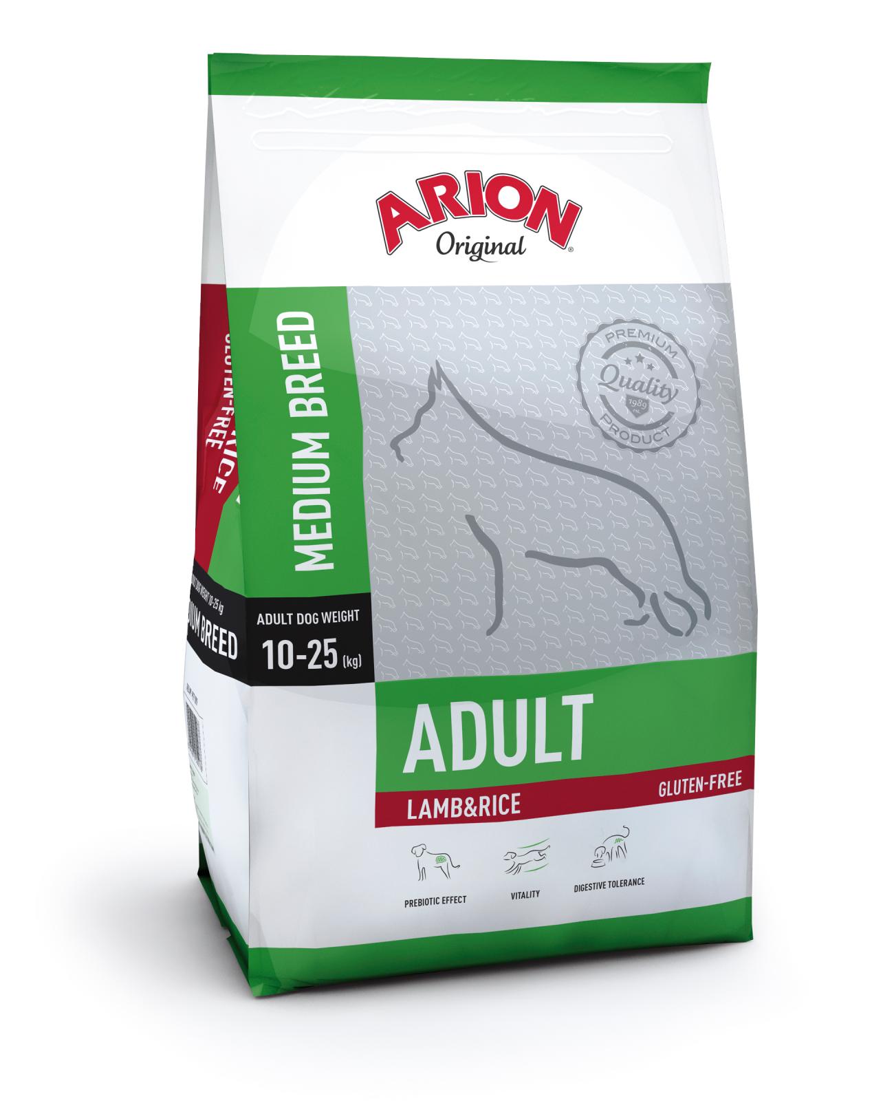 Arion Original Adult Medium Breed cu Miel si Orez