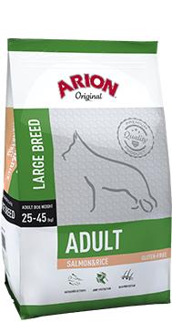 Arion Original Adult Large Breed cu Somon si Orez 12 Kg