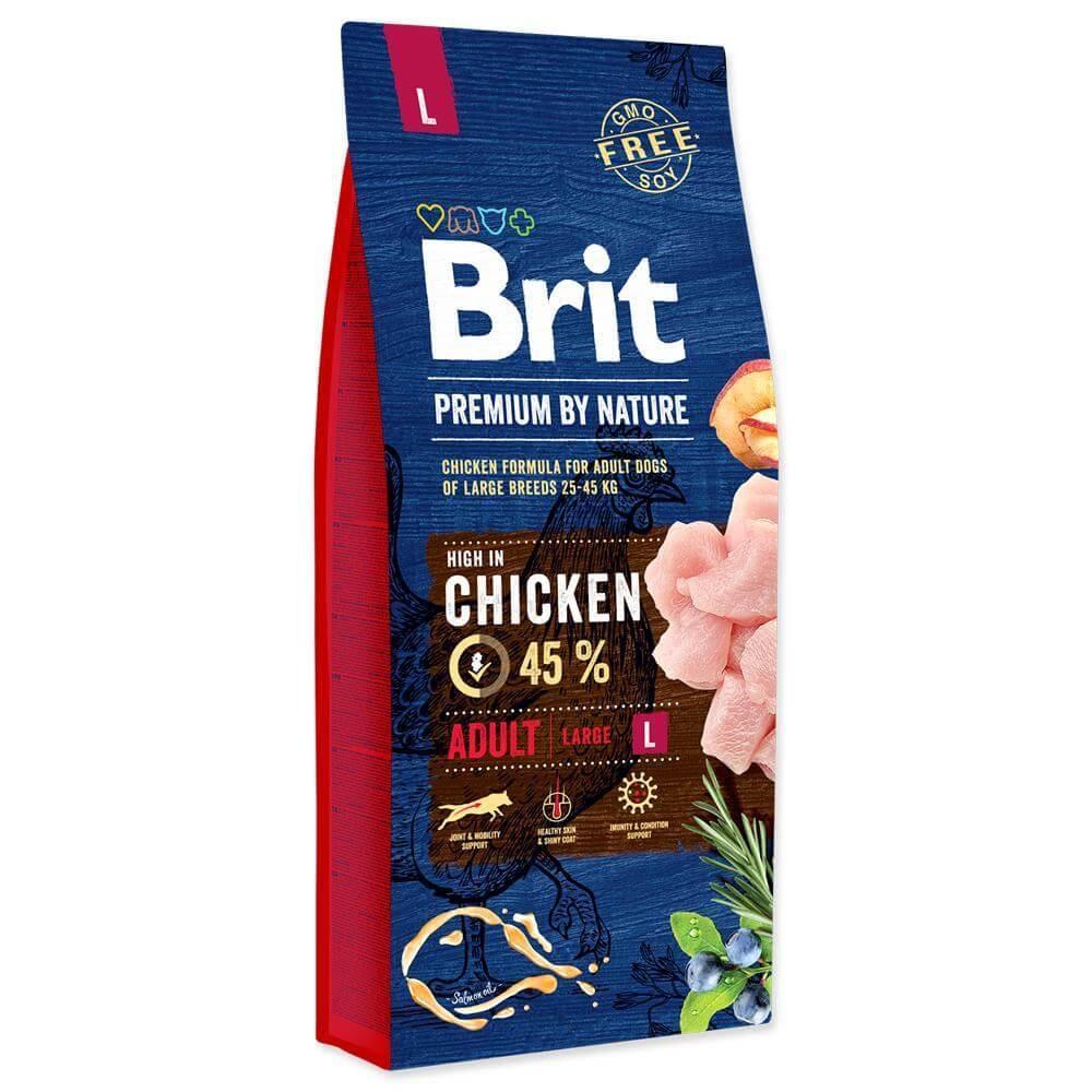Brit Premium By Nature Adult L, 3 Kg