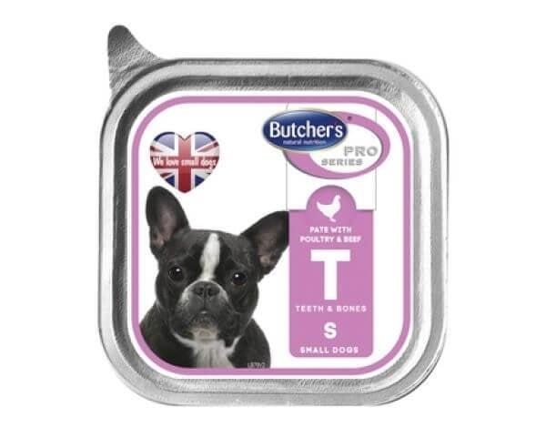 Pachet Butcher's Dog Pro Series Pate, Pasare si Vita, 6x150 g