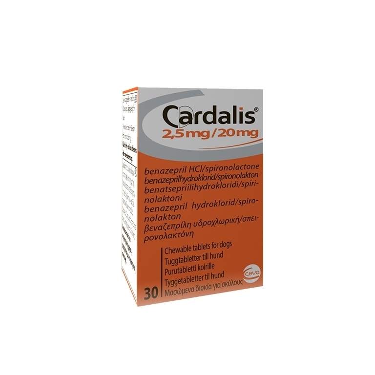 Cardalis S 2.5 mg / 20 mg, 30 Tablete