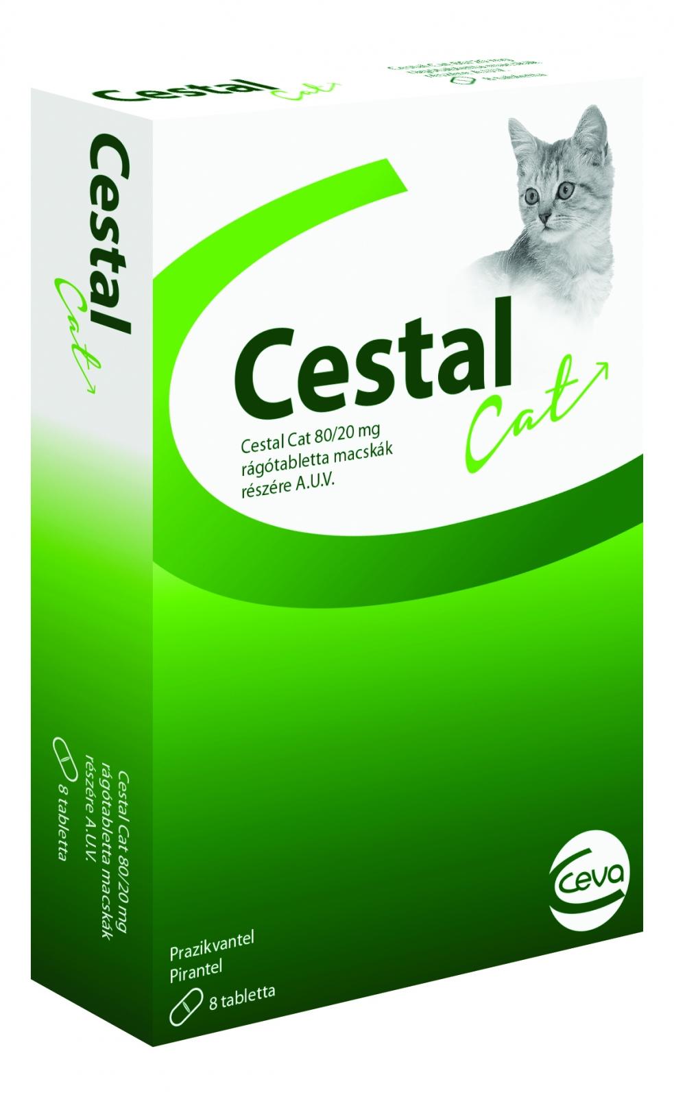 Cestal Cat, 8 comprimate masticabile