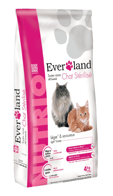 Everland Nutrio Cat Sterilised, 4 kg