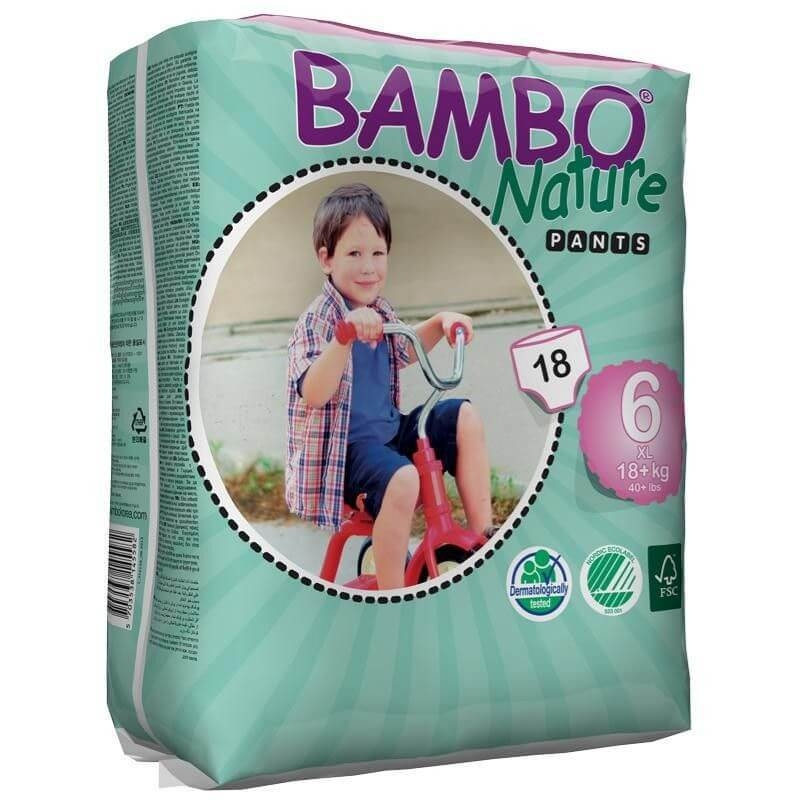 Chilotei  Bambo Nature ECO Pants XL Nr. 6, 18+ kg, 18 buc