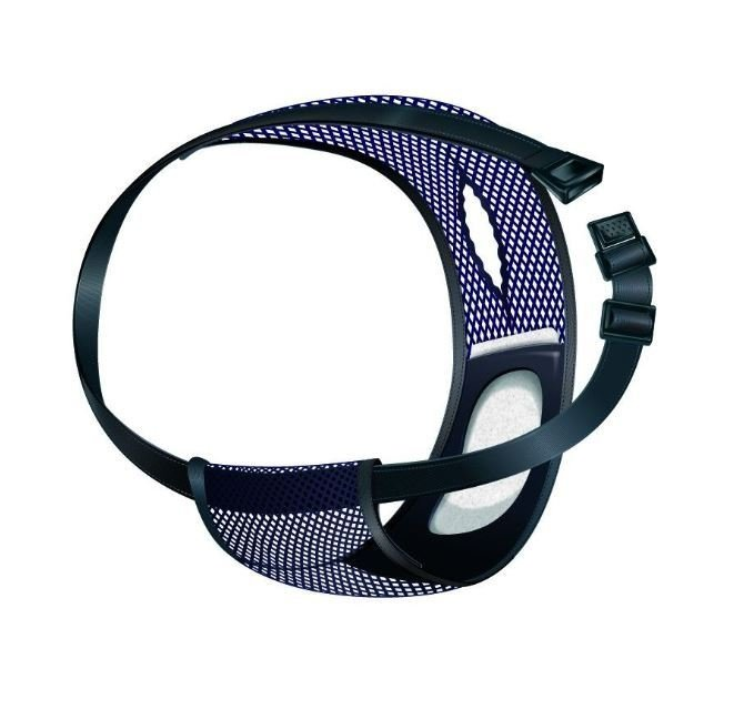 Chiloti Protectie 50*59cm negru cu albastru