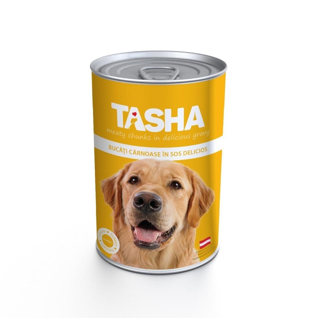 Tasha Conserva Cu Curcan In Sos, 415 g