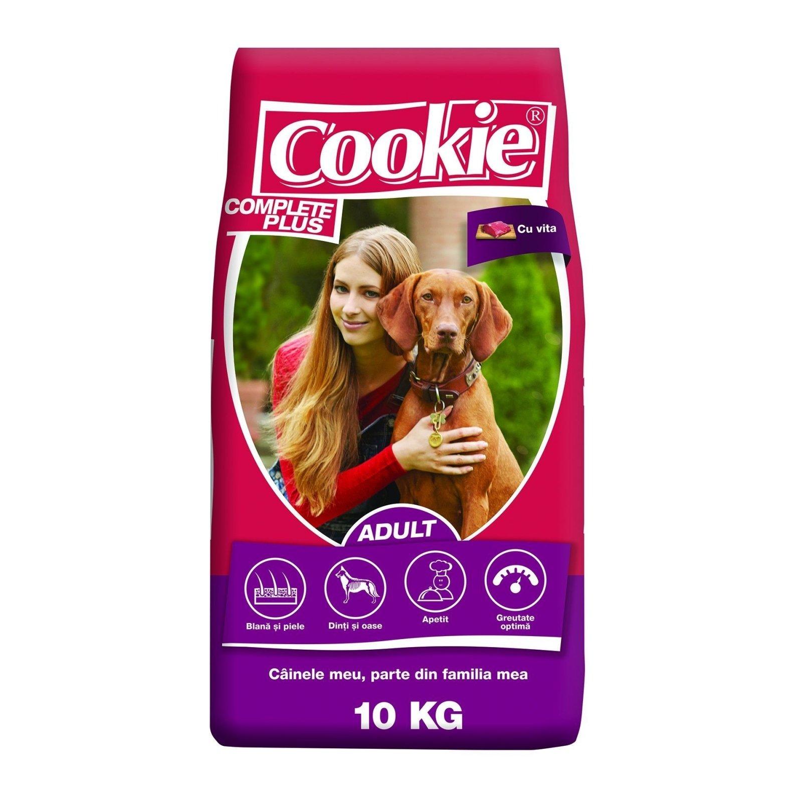 Cookie Complete Plus Adult cu Vita, 10 kg