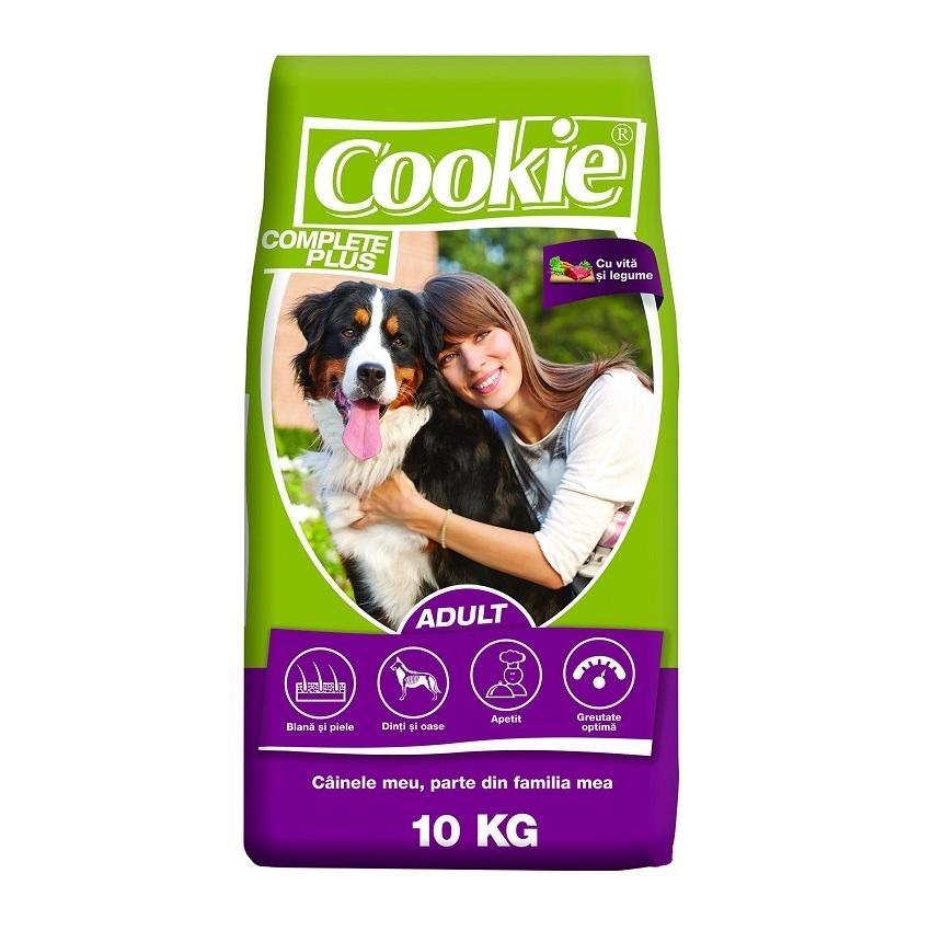 Cookie Complete Plus Adult Vita si Legume, 10 kg
