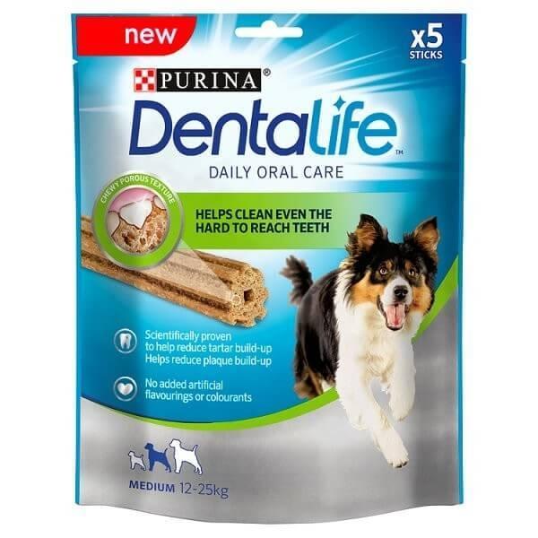 Dentalife Recompense Pentru Caini De Talie Medie, 5X115G
