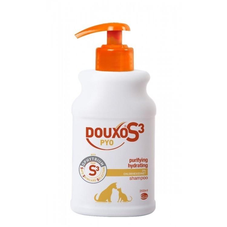 Sampon Douxo Pyo cu Chlorhexidina, 200 ml
