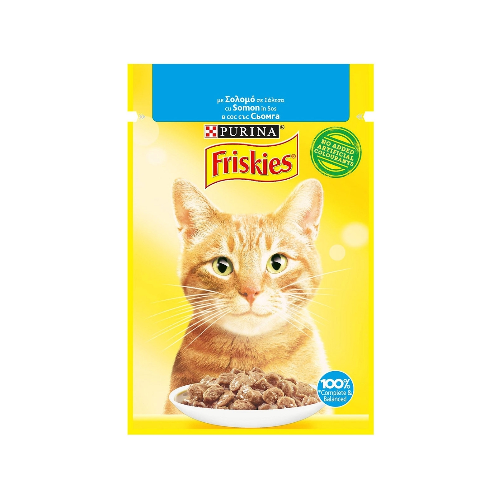 Friskies Cat Adult Somon, 85 g