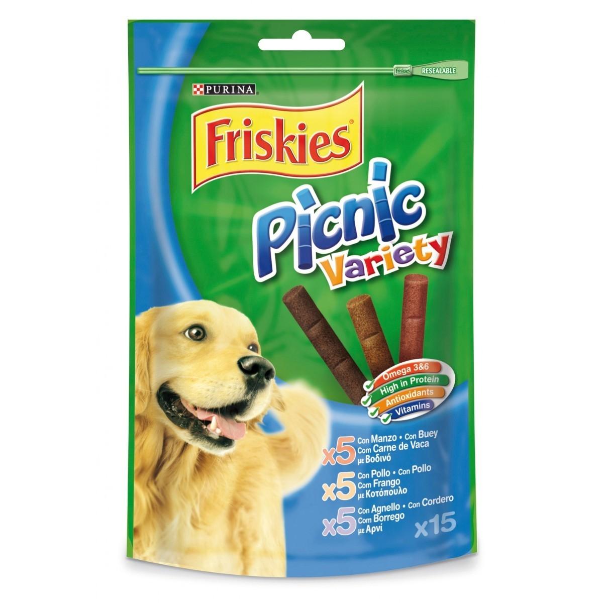 Friskies Picnic Dog Variety, 126 g