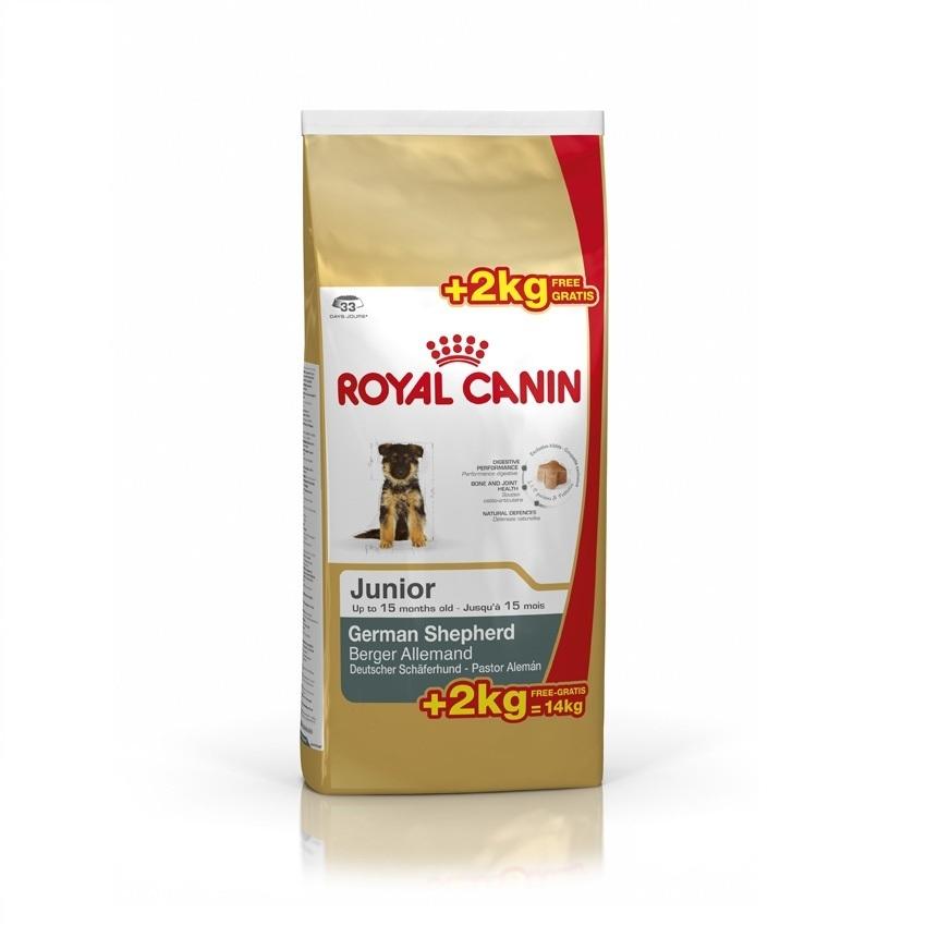 Royal Canin Ciobanesc German Junior  12 kg + 2 kg gratis