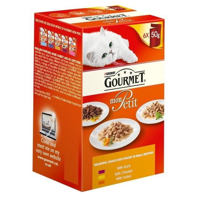 Gourmet Mon Petit cu Pui 6 x 50 g