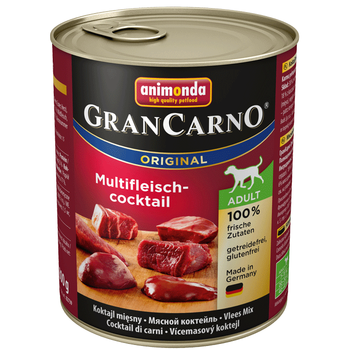Grancarno Adult Cocktail Carne 800 g