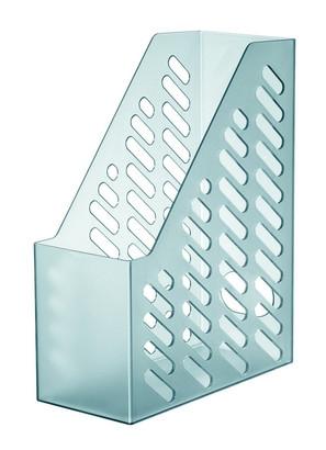 Suport vertical plastic pentru cataloage HAN XXL - transparent fumuriu