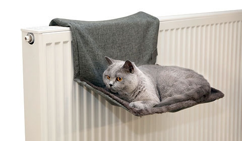 Hamac Pentru Pisici Kerbl, Gri, 45x30 Cm