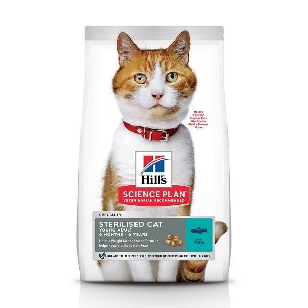 Hill's Science Plan Feline Young Adult Sterilised Ton, 15 Kg