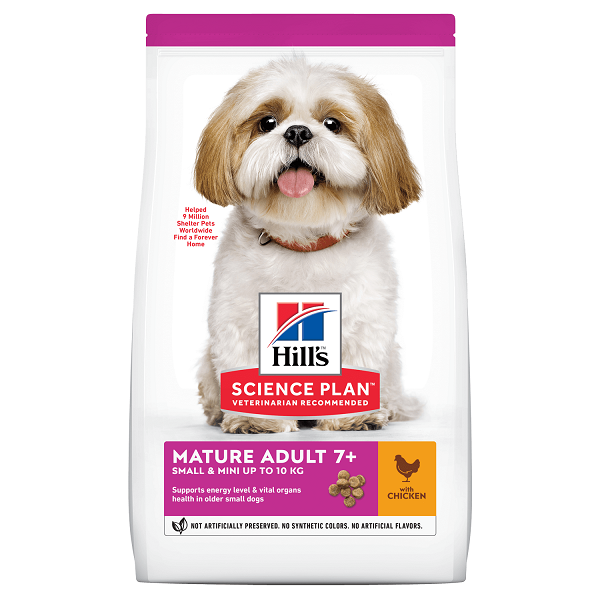 Hill's SP Canine Mature Small & Miniature Pui, 300 g