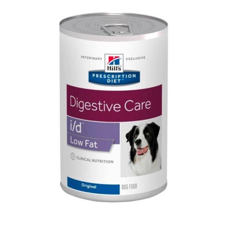 Hill's PD Canine i/d Continut Scazut de Grasimi, 360 g