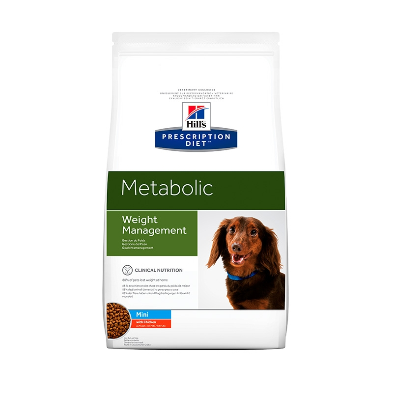 Hill's PD Canine Metabolic-Obezitate, Mini, 1.5 kg