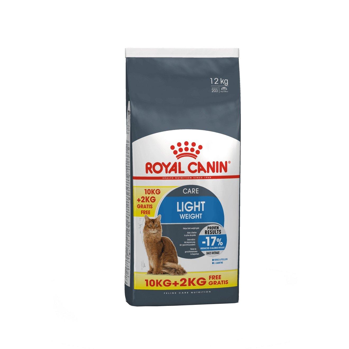 Royal Canin Light Weight Care 10 kg + 2 kg Gratis