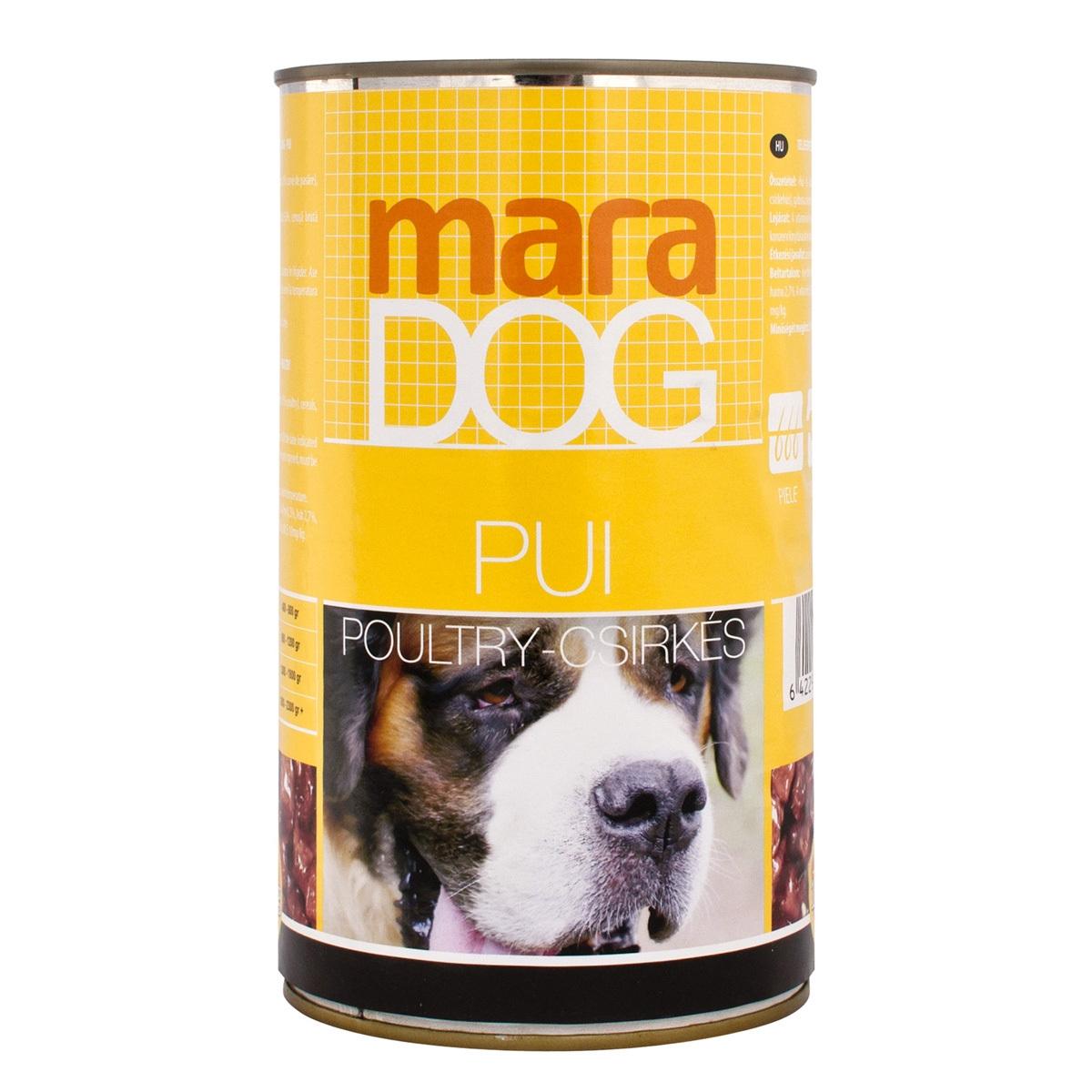 Maradog Conserva Pui, 415 g