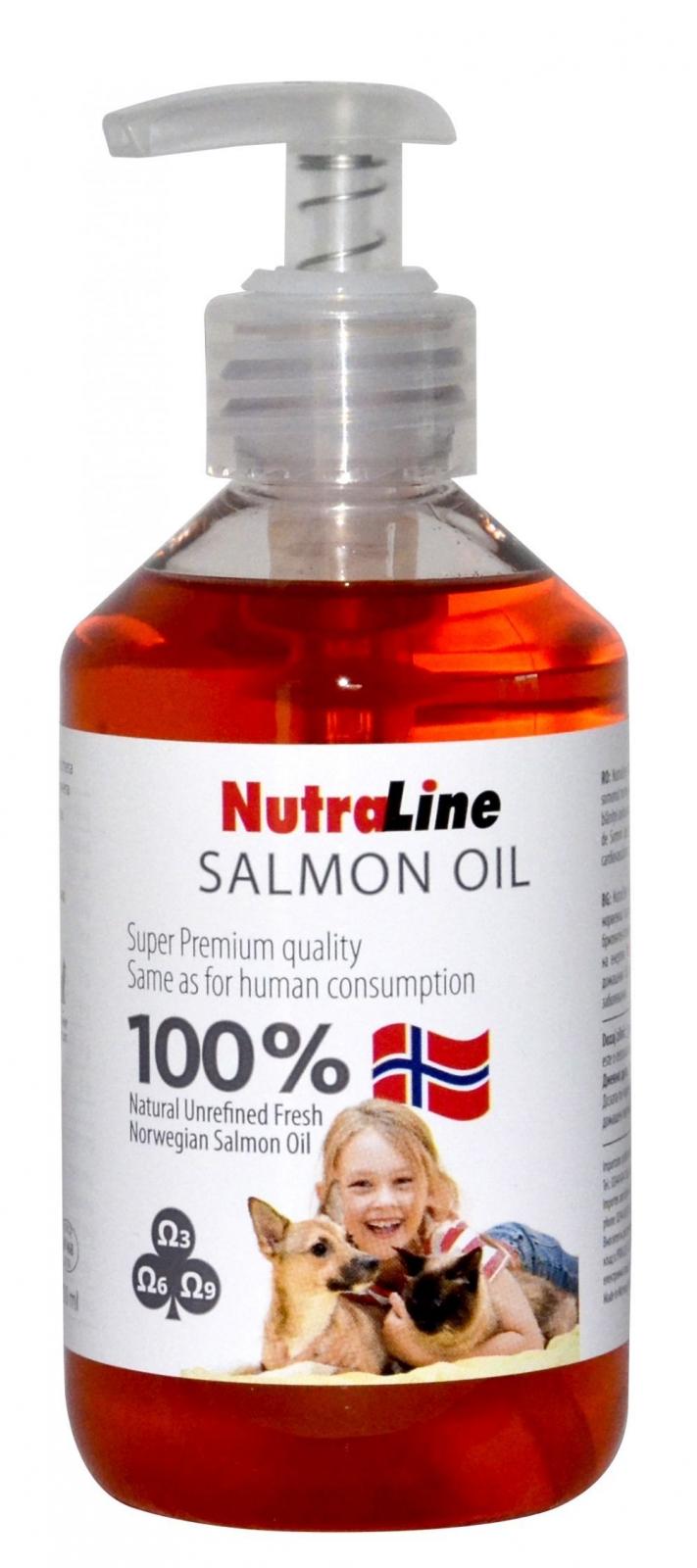 Nutraline Ulei de Somon, 300 ml