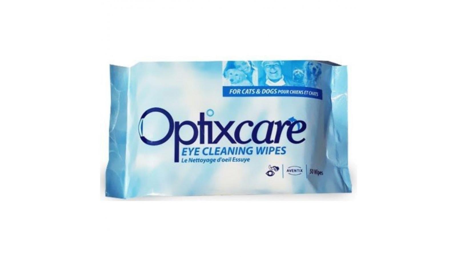Servetele Umede Curatare Ochi OptixCare, 50 buc