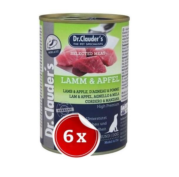 Pachet 6 Conserve Dr. Clauder's Selected Meat Miel si Mar, 400 g