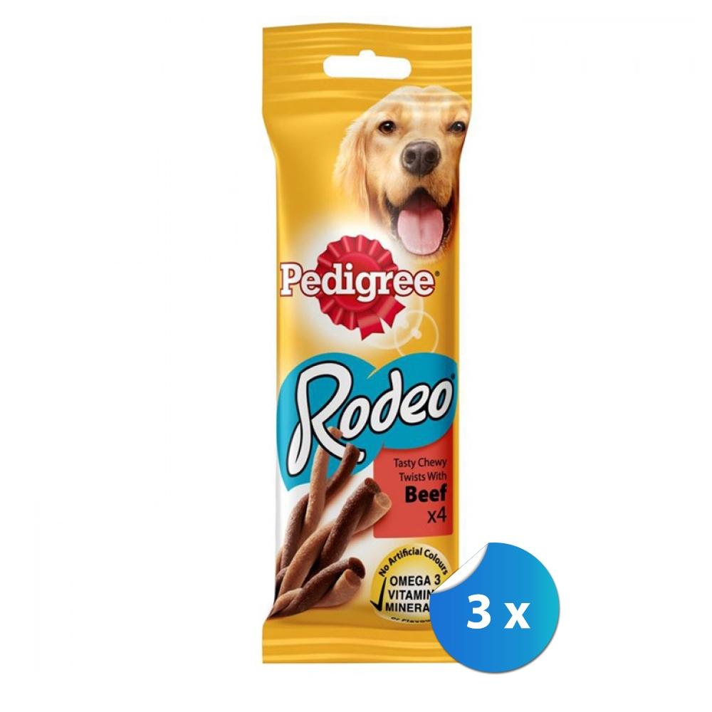 Pachet Pedigree Rodeo cu Vita 3 x 70 g