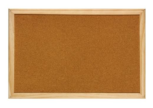 Panou pluta, OPTIMA, 90x120 cm, rama lemn