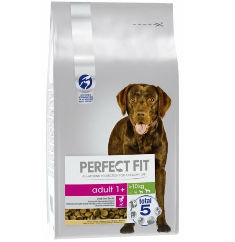 Perfect Fit Dog Adult Medium/Large cu Pui, 6 kg