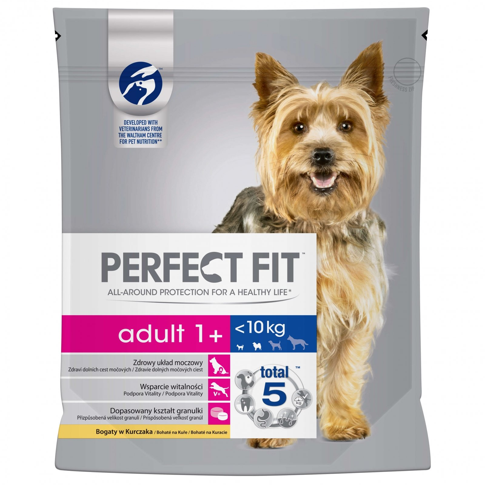 Perfect Fit Dog Adult cu Pui, 1.4 kg