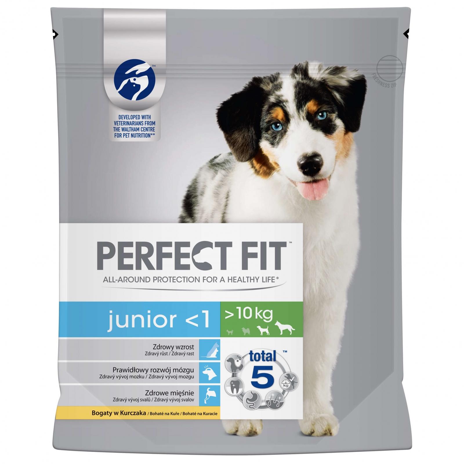 Perfect Fit Dog Junior cu Pui, 1.4 kg