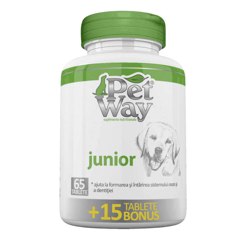 Petway Junior, 65 tablete + 15 tablete