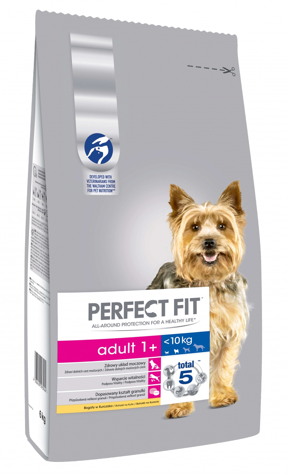 Perfect Fit Dog Adult cu Pui, 6 kg
