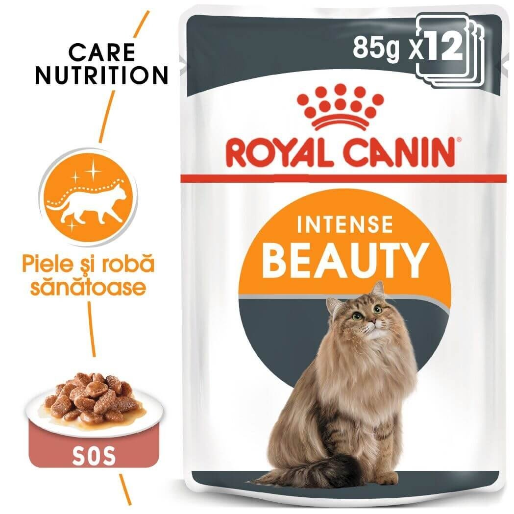 Royal Canin Intense Beauty in Gravy, 85 g