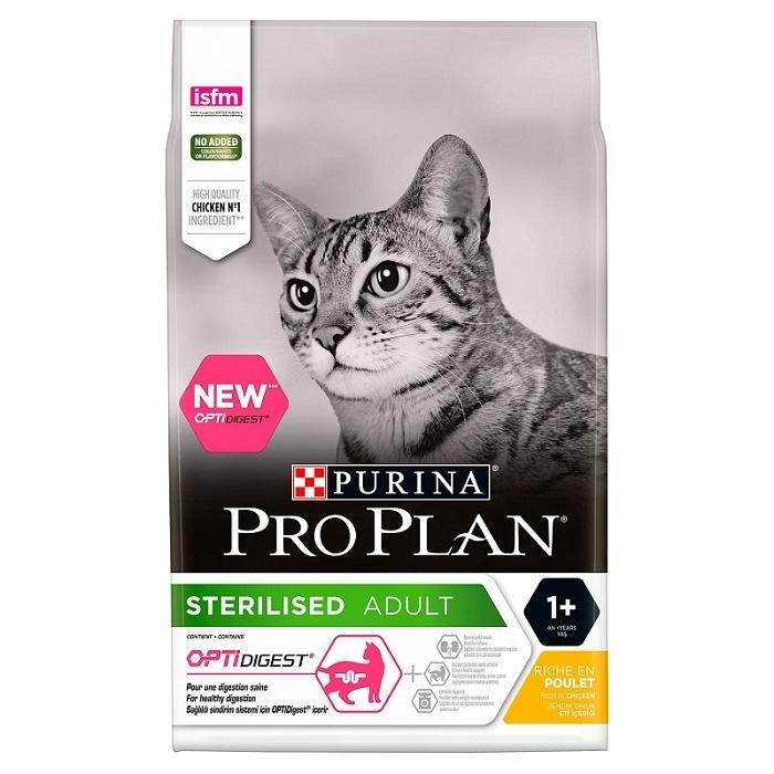 Pro Plan Sterilised Cat Optidigest Pui, 10 kg