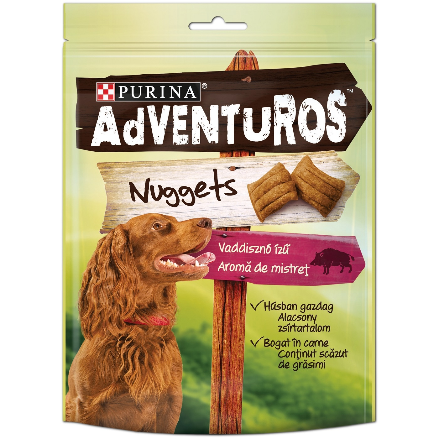 Purina Adventuros Nuggets Mistret 90 g