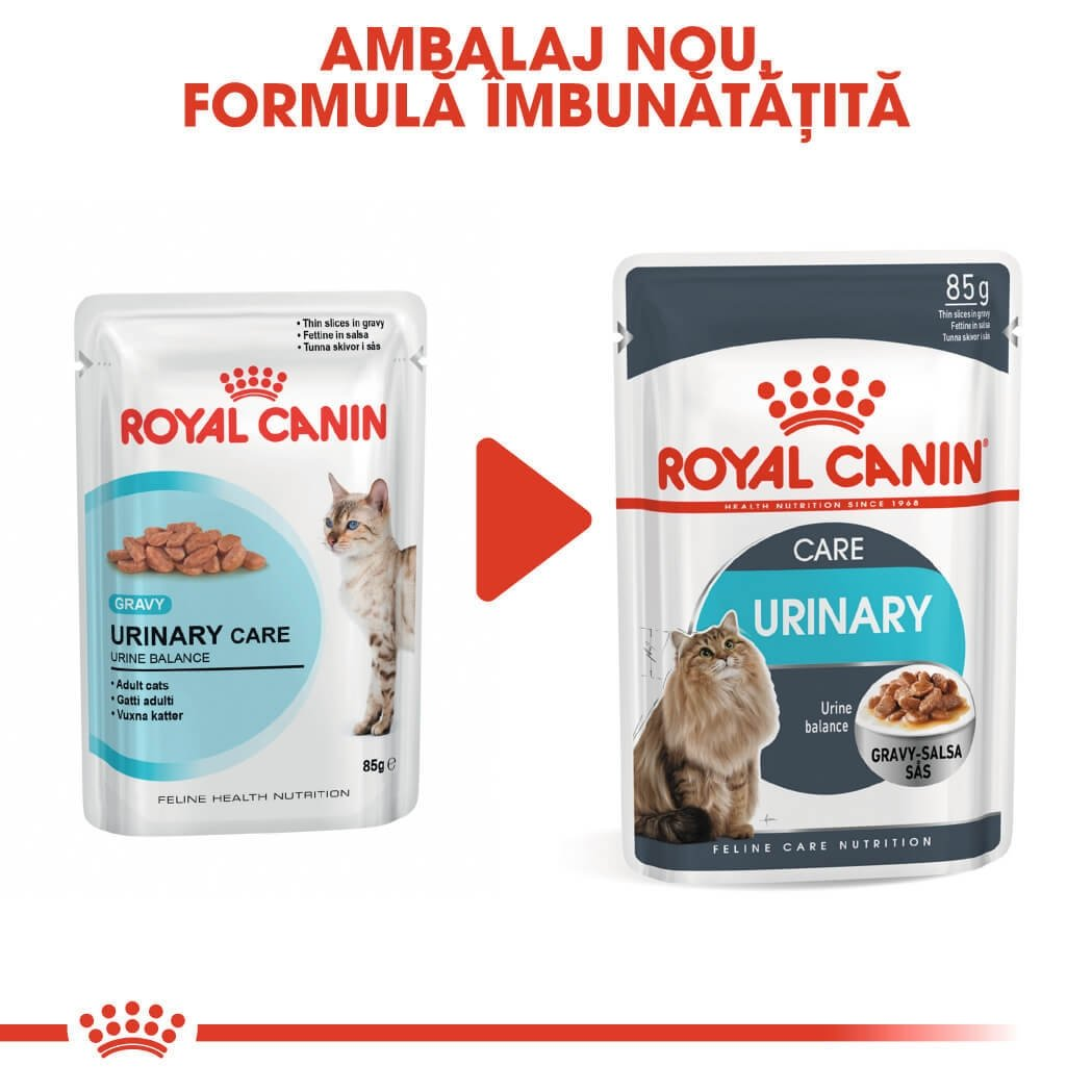 Pachet Royal Canin Urinary Care, 24 x 85 g