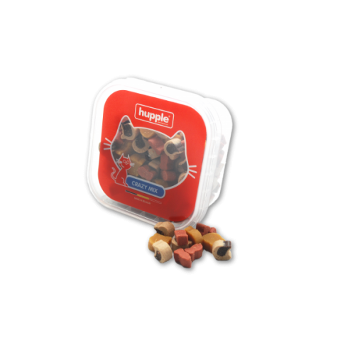Recompense pentru Pisici, Hupple Cat Softy Crazy Mix, 80 g